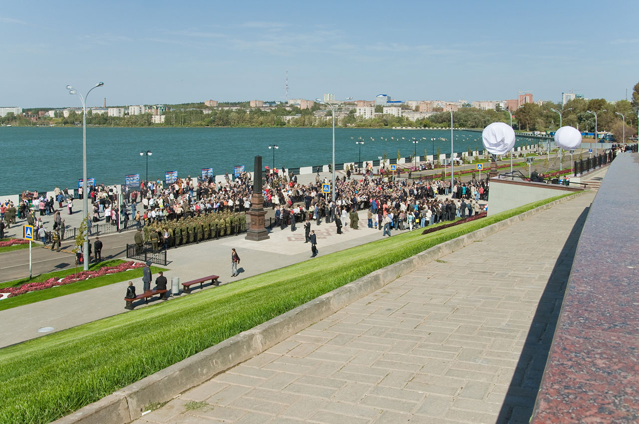 Набережная Ижевского пруда