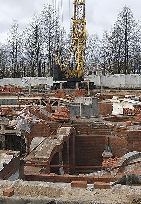 Строительство Свято-Михайловского Собора