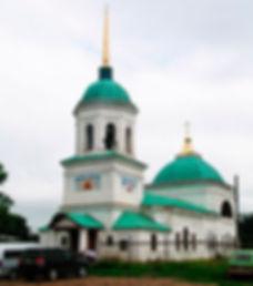 Свято-Никольский храм в селе Данилово Киясовского района