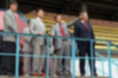 Председатель Государственного Комитета по физической культуре и спорту Вячеслав Фетисов, Первый Президент Удмуртии Александр Волков