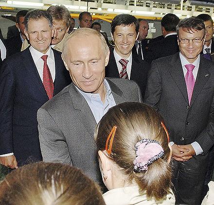 Президент России Владимир Путин, визит на ИжАвто