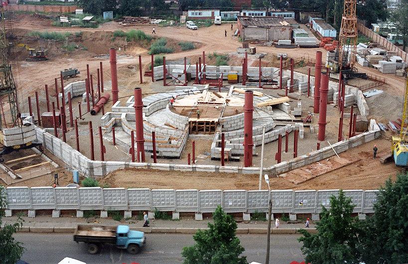 Строительство ижевского цирка