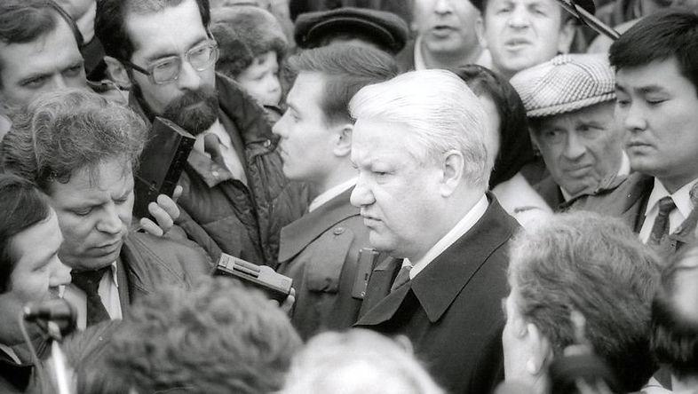 Борис Ельцин в Удмуртии
