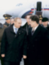 Александр Александрович Волков, Первый Президент Удмуртии, Владимир Путин