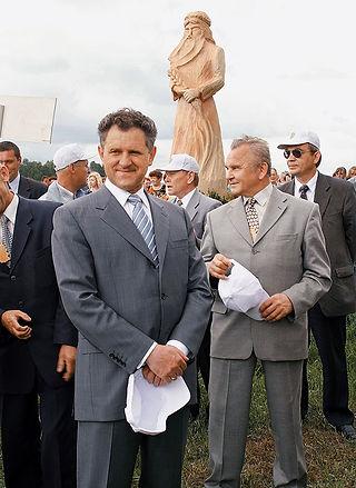 Александр Александрович Волков, Первый Президент Удмуртии, праздник Гербер