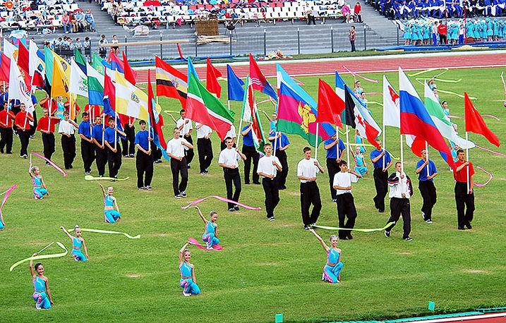 Всероссийские летние сельские спортивные игры в Удмуртии
