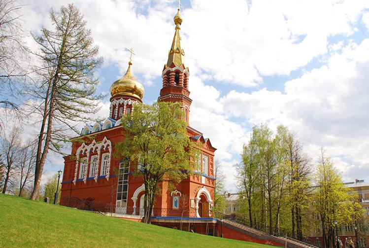 Ижевск, церковь иконы Казанской Божьей матери