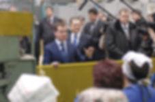 Александр Александрович Волков, Первый Президент Удмуртии и Дмитрий Медведев