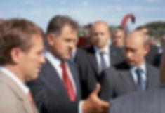 Александр Александрович Волков, Первый Президент Удмуртии и Владимир Путин, Президент России