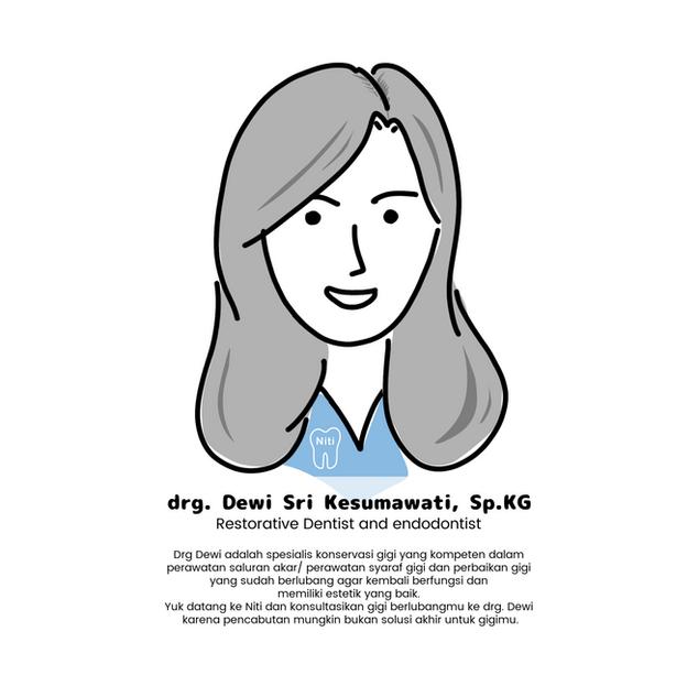 Drg. Dewi Sri Kesumawati, SpKG.