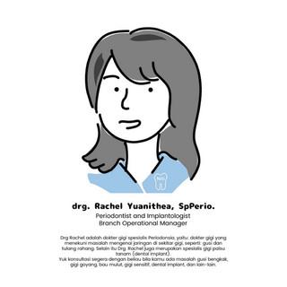 drg. Rachel Yuanithea, SpPerio.