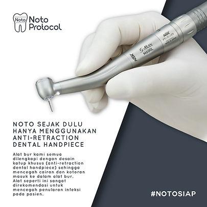 Dokter gigi jakarta sterilisasi aman pro
