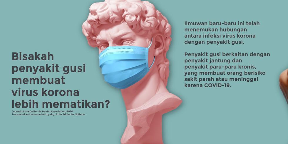 Dokter gigi jakarta sterilisasi aman protokol Covid 19