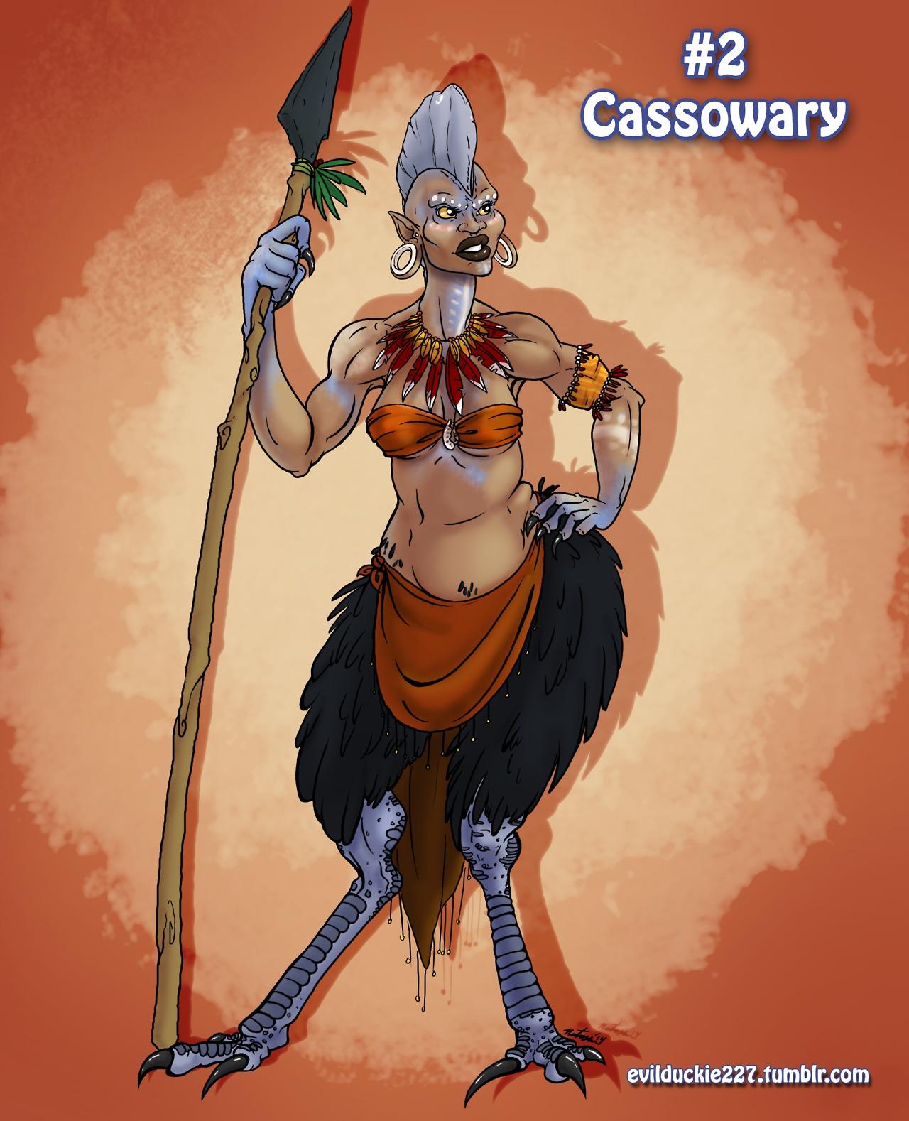 Cassowery Harpy