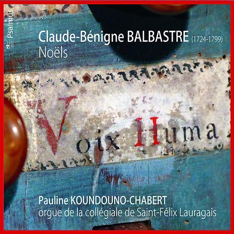 Claude-Bénigne BALBASTRE : Noëls