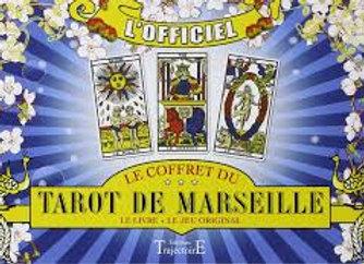 COFFRET TAROT DE MARSEILLE GRIMAUD: le livre + le jeu
