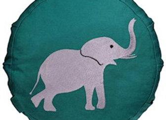 """ZAFU ENFANT """"éléphant"""" vert"""