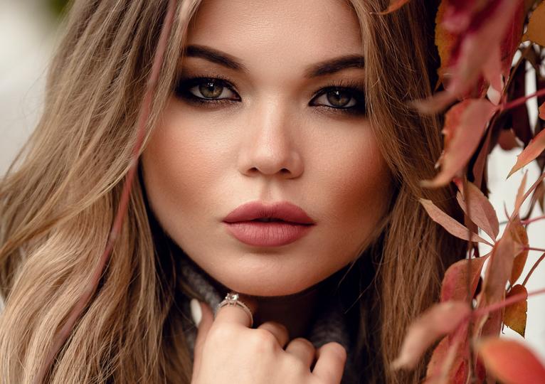 Cover Model of  IB Cosmetics Fall 2021