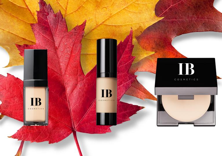 Liquid Foundations and Powder Fall 2021 of IB Cosmetics