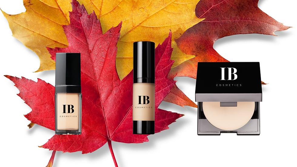 Liquid Foundations and Powder Fall 2021 of IB Cosmetics .png