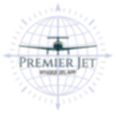 Premier Jet App Official Logo LUXE Digit