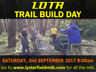 Trail Build/Maintenance Day - September