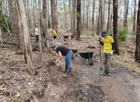 Trail Maintenance Day - Golden Goat Course - 11 May 2019