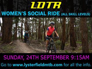 Women's Social Ride - September
