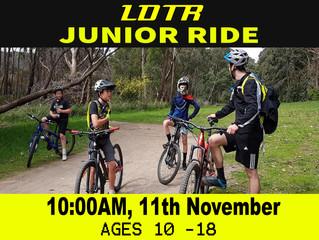 Junior Ride - November