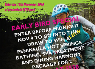 WIN an Early Bird Prize Pack - LAST CHANCE