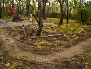 April 21/22 Trail Build Photos