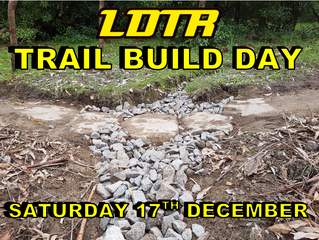 Trail Build Day - Saturday 17th December