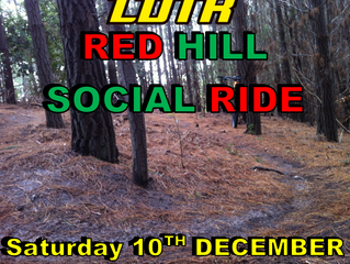 LDTR - December Social Ride at Red Hill