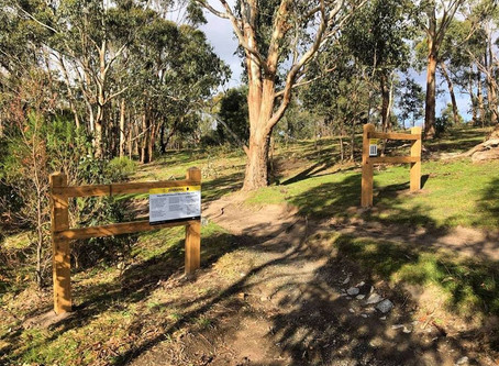 Lysterfield Park Signage Updates