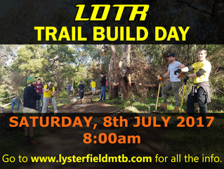Trail Build day - 8th July
