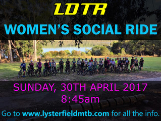 LDTR Women's Social Ride - APRIL 2017