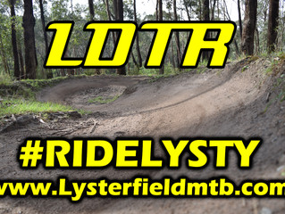 LDTR at Lysterfield Park  - COME and RIDE LYSTY.