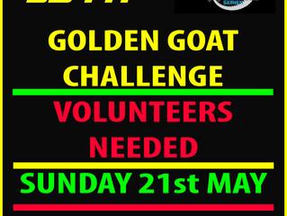 Volunteers Needed!! Round 2 - VES 21st May