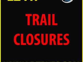 Trail Closures - May 21