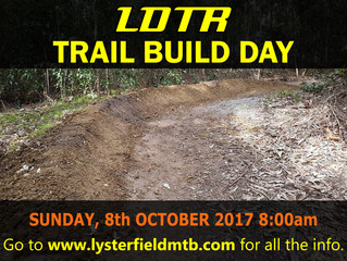 Trail Build/Maintenance Day October