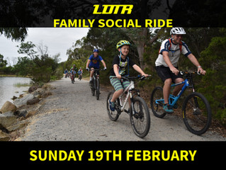 Family/Beginner Social Ride Day - Feb 2017