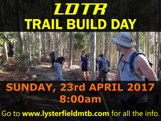 Trail Build Day - Sunday 23rd April 2017