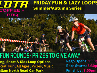 LDTR Friday Fun & Lazy Loops @ Lysty 2018 Summer/Autumn series