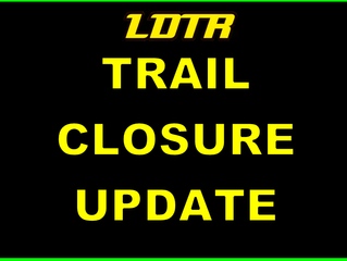 Trail Closures this Weekend