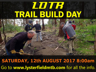Trail Build Day 12th August
