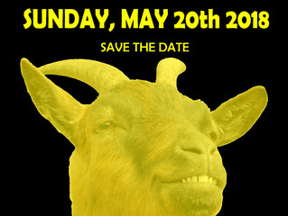 SAVE THE DATE! MAY 20TH