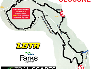 Trail Closure - State Mountain Bike Course