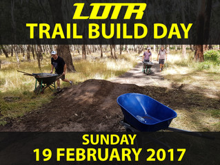 LDTR Trail Build Day February