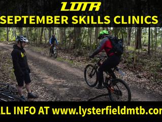 September Skills Clinics