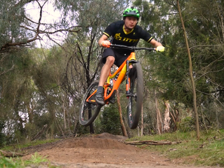 Snipe Trail Video - New Lower Section